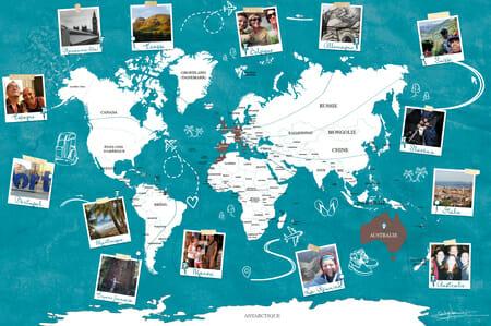 La carte du monde - cartedumonde.eu - V1