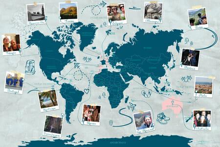 La carte du monde - cartedumonde.eu - V3