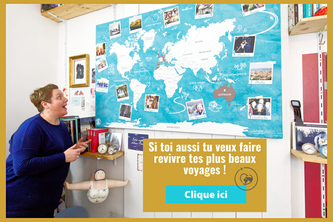 Pop-up Carte du Monde