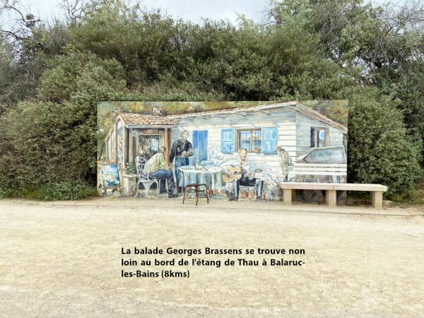 Balade Goerges Brassens - Balaruc-les-Bains