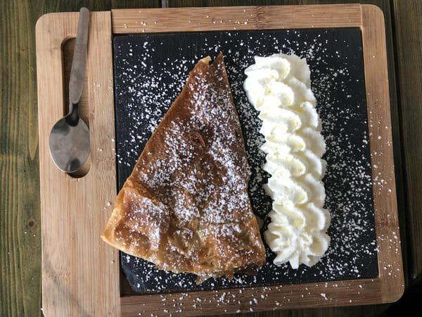Dessert au restaurant du Camping Arnaoutchot