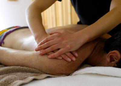 Massage au Spa du Camping Arnaoutchot